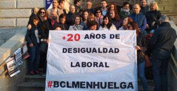 Seguimiento total en la primera jornada de huelga en la Biblioteca de Castilla-La Mancha