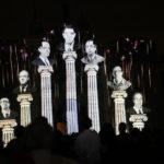 'Memoria y Concordia' espectáculo de luz y sonido en Bisagra por 40 años de Constitución