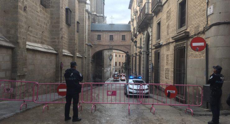 Se desprende una piedra de la catedral de Toledo sin daños personales