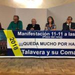 """La Mesa por Talavera convoca a las administraciones el 7 de octubre """"ante la falta de respuesta"""""""