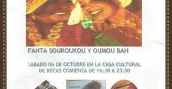 Recas acercará la cultura africana a la sociedad con la celebración del Día de Sambe Sambe
