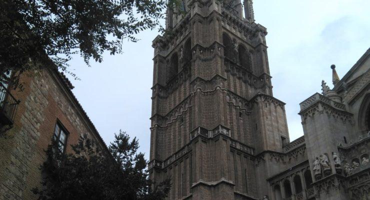 Drones para comprobar los posibles perjuicios en la Catedral de Toledo tras el desprendimiento