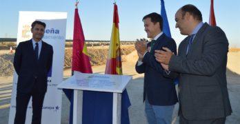Colocan la primera piedra del carril bici que unirá los barrios de Seseña