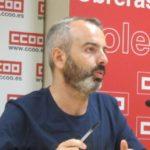 CCOO pide supervisión sindical en los inicios de grandes empresas tras la muerte de un trabajador en Toledo