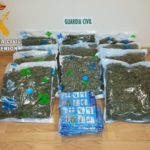 Les sorprenden traspasando marihuana entre dos turismos parados en la A-5