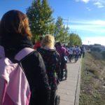 """Más de 5.000 personas reivindican un río Tajo """"limpio y vivo"""""""