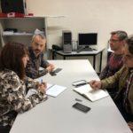 La situación del ferrocarril y el Plan de Empleo de Talavera centran la reunión Ganemos-CCOO