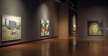 La muestra 'Cielo-Tierra' realza el paisaje a través de 39 artistas en el Museo de Santa Cruz