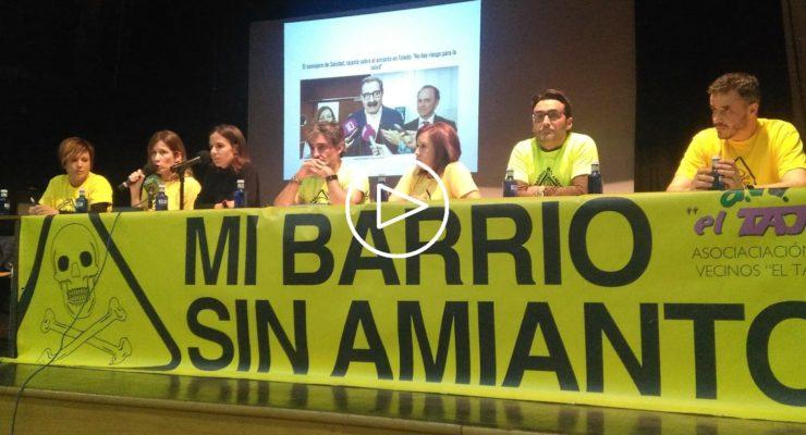Mi Barrio Sin Amianto sopesa concurrir a elecciones tras dar a conocer tres muertes por mesotelioma en Toledo