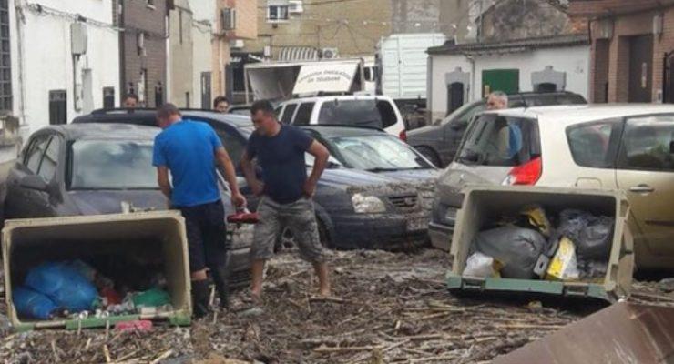 La Junta dará prioridad en las ayudas a la rehabilitación a los vecinos afectados por las inundaciones de Cebolla