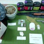 Detenido en Gálvez tras incautarle 52 gramos de cocaína, 200 de hachís, 198 plantas de marihuana o dos armas
