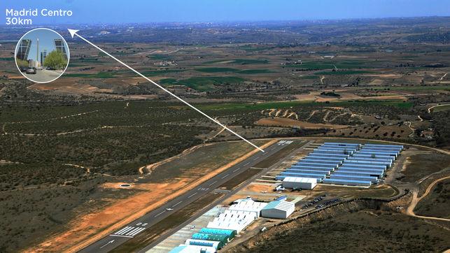 Vecinos y ecologistas crean la Plataforma 'No Aeropuerto' entre Madrid y Toledo
