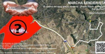 """Organizan una marcha senderista para denunciar """"los excesos"""" de agua del proyecto de Puy du Fou en Toledo"""