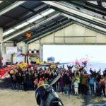 El aeródromo de Casarrubios convierte en 'pilotos por un día' a niños con diversidad funcional