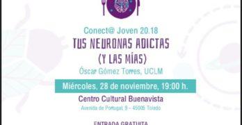 'Tus neuronas adictas (y las mías)', una charla para comprender la dependencia a las drogas o a las apuestas