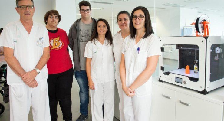 El Hospital de Parapléjicos se suma al fenómeno 'makers' con la impresión en 3D