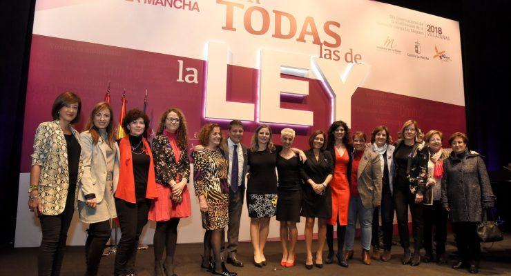 """Castilla-La Mancha, contra la violencia machista """"con todas las de la ley"""": """"Aquí se ha apostado por la igualdad"""""""