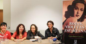 'Rojas, Violetas y Espartanas', la lucha de una mujer por la memoria de muchas de ellas