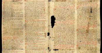 Hallan en el Archivo de la Nobleza un fragmento en galaico-portugués de las Partidas de Alfonso X