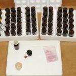Detenido en la A-4 con hachís, éxtasis, cristal y 71 frascos de un líquido alucinógeno