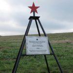 Erigen un monumento en recuerdo a un piloto soviético caído durante la Guerra Civil