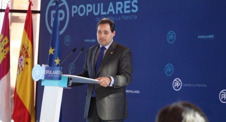 """Nuñez niega la encuesta interna que da la victoria al PSOE en Toledo: """"Hay que publicarla, me encantaría verla"""""""