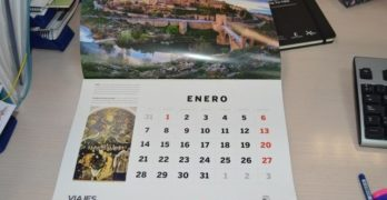 Toledo protagoniza el mes de enero del calendario 2019 de National Geographic