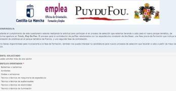 Puy du Fou recibe más de 300 solicitudes de empleo en la plataforma online