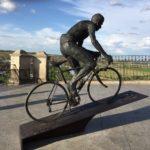 La escultura de Bahamontes regresará antes del 13 de septiembre