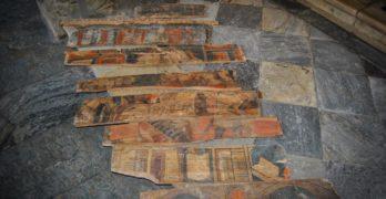 """Nuevas tablas policromadas muestran una """"parte poco conocida"""" de las artes decorativas de Toledo en el siglo XV"""