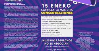 """Toledo y Talavera se suman a las movilizaciones feministas de Andalucía: """"Nuestros derechos no se negocian"""""""