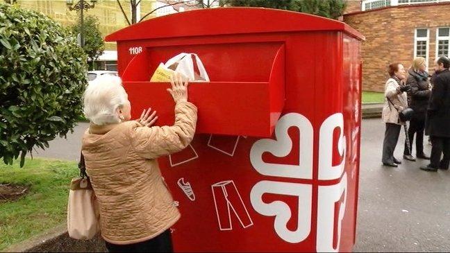 Cáritas gestionará los contenedores de recogida de ropa usada en Toledo, donde instalará otros 12