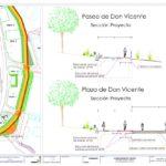 Santa Bárbara contará con un carril bici en el paseo de Don Vicente