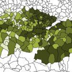La pérdida de población de 14 municipios de la provincia les resta 32 concejales en la siguiente legislatura