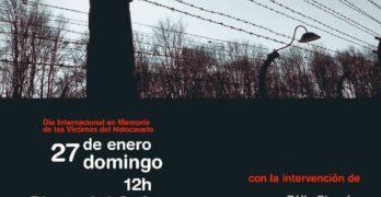 """Homenaje """"de justicia"""" a los toledanos deportados a los campos de concentración con Chiki Serrano y Félix Chacón"""