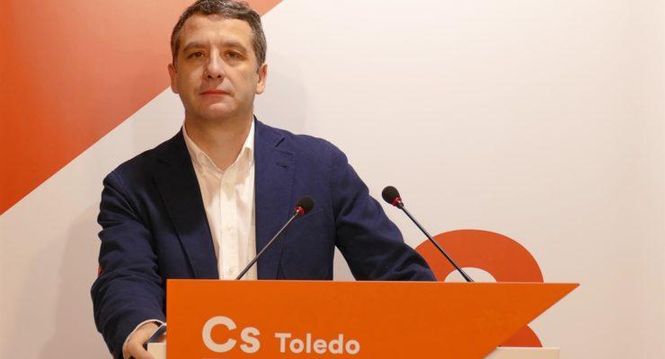 Ciudadanos confirma al concejal Esteban Paños como cabeza de lista en Toledo