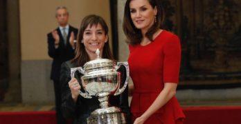 """Sandra Sánchez recibe el Premio Nacional del Deporte y apunta a Tokyo: """"Quiero luchar por el oro"""""""