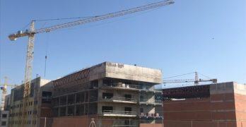 La empresa constructora se compromete a entregar en abril la obra del nuevo hospital de Toledo