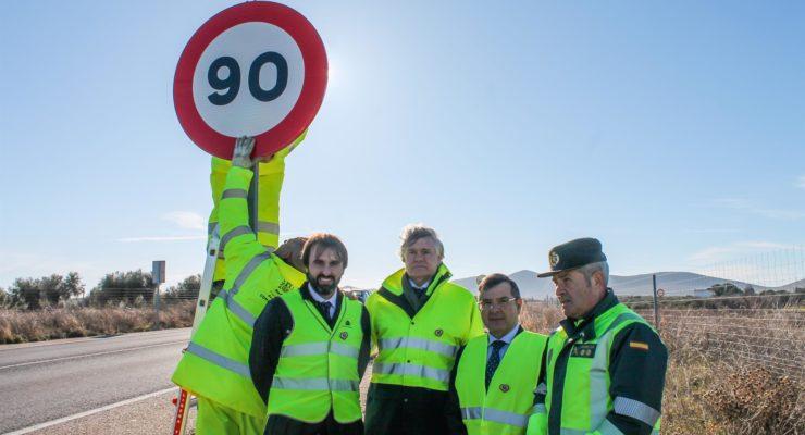 Retiran 34 señales de 100km/hora en la provincia con la entrada en vigor de la nueva normativa