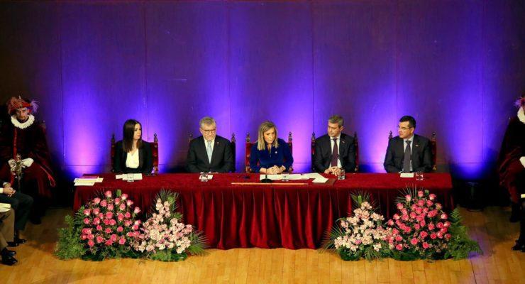 Toledo reconoce a sus ciudadanos de honor, hijos adoptivos y predilectos en San Ildefonso