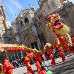 Toledo celebra la entrada del año nuevo chino, el año del cerdo