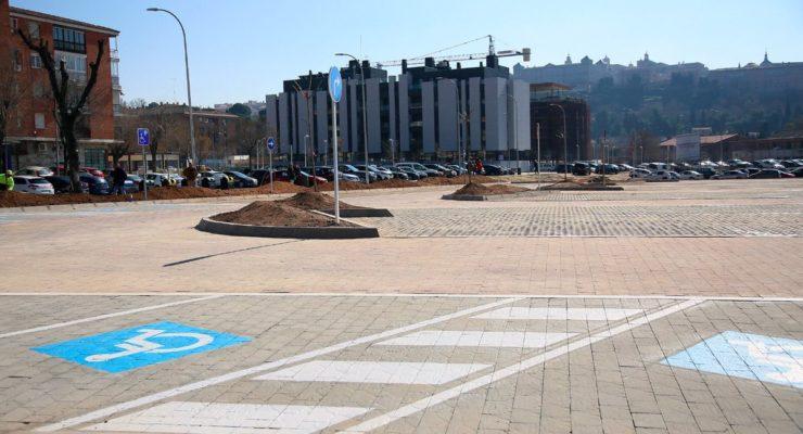 """""""Los humedales"""" de Santa Teresa se convierten en un aparcamiento gratuito que tendrá 700 plazas"""