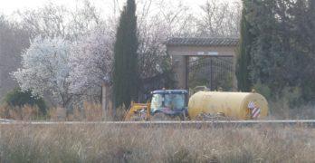 Estudian si es la Junta o la CHT quien ha de resolver la denuncia por la extracción ilegal de agua en las obras del Puy du Fou