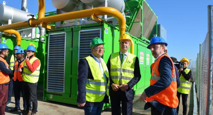 Las dos nuevas instalaciones del Ecoparque permiten abastecer de energía a más de 74.000 toledanos