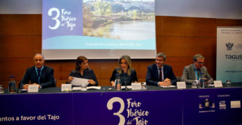 """Tolón reivindica en el Foro Ibérico del Tajo que es """"deber moral"""" de los toledanos defender el río"""