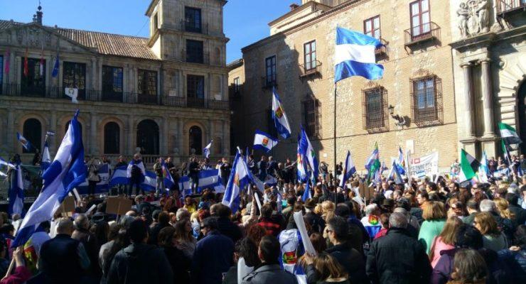 """Clamor ciudadano en Toledo contra el """"abandono y olvido"""" de Talavera de la Reina"""