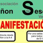 """Vecinos de Seseña reclaman un """"acceso digno y seguro"""" a la A-4"""