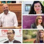 Unidas Podemos-IU-Equo presenta sus candidatos en la región con García Molina como número uno