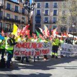 Desconvocados los paros y huelgas de los trabajadores de ambulancias tras alcanzarse un preacuerdo