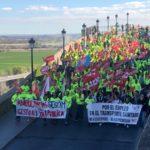 """Cerca de 300 trabajadores de ambulancias se manifiestan ante """"el bloqueo del convenio colectivo"""""""
